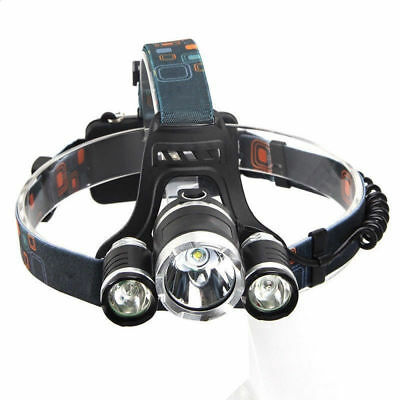 30000LM CREE XM-L T6 LED 18650 Tactical&Military Headlamp Headlight Light Lamp