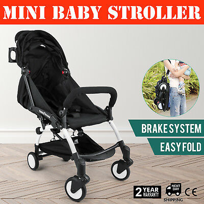 165° Mini Baby Foldable Stroller Pram Pushchair Carriage Infant ~Travel System