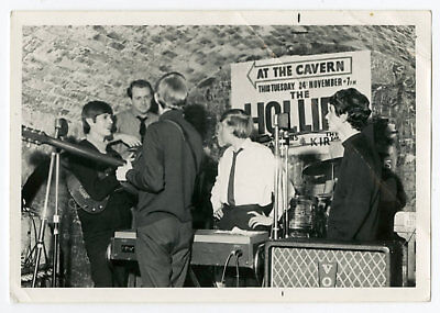 The Cavern Club 1964 Vintage Photograph Liverpool Bob Wooler Collection
