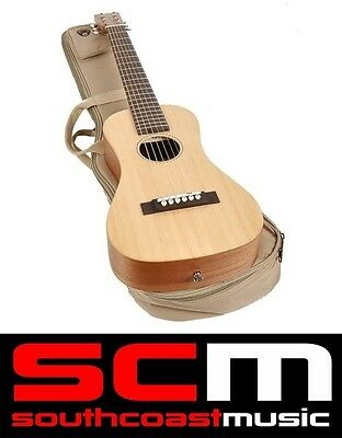 BRAND NEW SX TG1 TRAVELLER GUITAR SHORT SCALE TRAVEL GUITAR with SPRUCE TOP