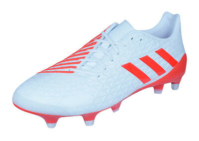 adidas Predator Malice SG Mens Rugby Boots - White