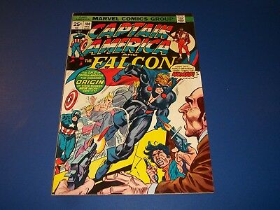 Captain America #180 Bronze Age 1st Nomad Key Issue Wow VF- Beauty