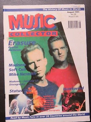 Music Collector Mag No 30, Erasure, Madness, Soft Cell, Hawkwind And Lots More