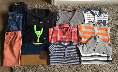 Boys Clothes Bundle 4-5 Years - Next - M&S - Ben Sherman - Ripstor & More