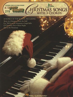 Christmas Songs with 3 Chords E-Z Play Today Very Easy Keyboard Music Book