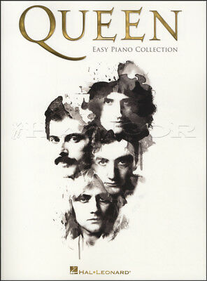 Queen Easy Piano Collection Sheet Music Book Bohemian Rhapsody Another One Bites