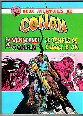 ALBUM CONAN avec LA VENGEANCE DE CONAN/LE TEMPLE D'OR ¤ ARTIMA COLOR GEANT