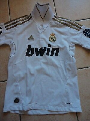 Maillot de foot Real Madrid taille 12 ans