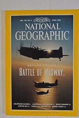 National Geographic Magazine. April, 1999. Return to the Battle of Midway.
