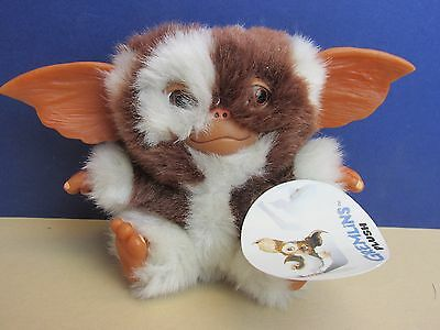 NECA rare vintage GIZMO GREMLINS with tags SOFT PLUSH/ VINYL TOY teddy MOVIE k53