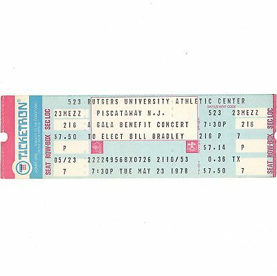THE BLUES BROTHERS & PATTI SMITH GROUP Concert Ticket Stub 5/23/78 PISCATAWAY NJ