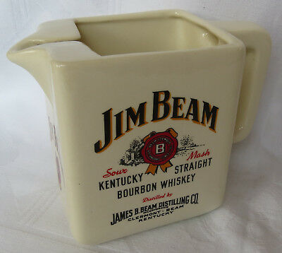 Jim Beam Kentucky Straight Bourbon Whisky Krug - Whisky Wasserkrug Karaffe Pug
