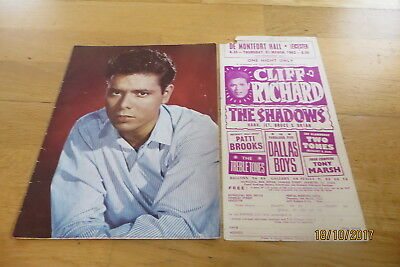 Cliff Richard, The Shadows Leicester 1962