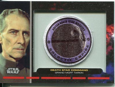Star Wars Galactic Files Patch Relic Card PR23 Death Star Command