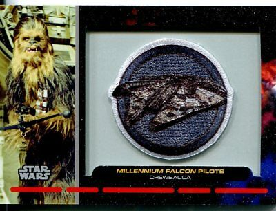 Star Wars Galactic Files Patch Relic Card PR26 Chewbacca