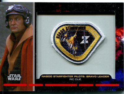Star Wars Galactic Files Patch Relic Card PR7 Ric Olie