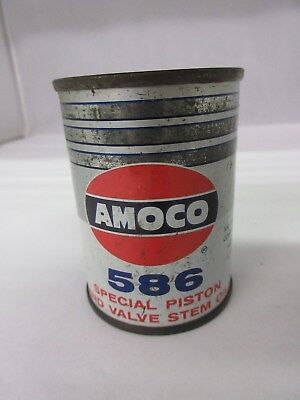 Vintage Amoco  Gas Oil  Promo Bank   Tin Advertising Collectible    557-G