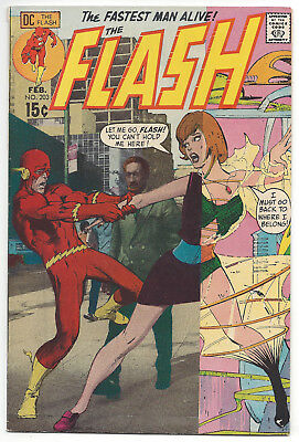 The Flash #203 (VF) 1971, Neal Adams cover
