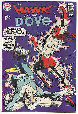 Hawk and the Dove #6 (FN) 1969