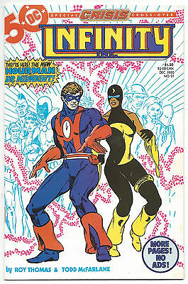 Infinity Inc. #21 (NM) 1985, Todd McFarlane art