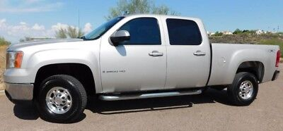 2008 GMC Sierra 2500  08 GMC SIERRA 2500HD 4WD CREW SB SLT VORTEC 6.0 CARFAX NO RUST LOADED AZ CLEAN
