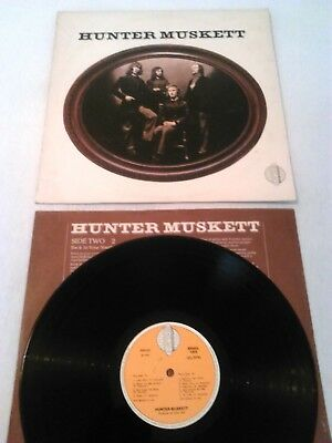 Hunter Muskett - S / T Lp + Inner Ex!!! Uk 1St Press Bradleys Relf King Crimson