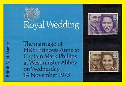 1973 Royal Wedding Presentation Pack 56  Royal Mail issued  Mint condition