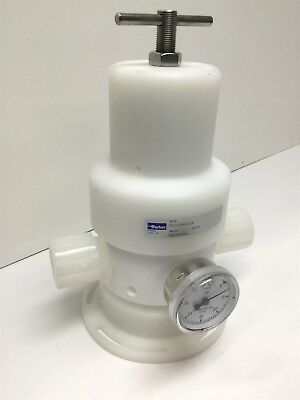 Parker Partek PR-3-51616-2-R High Purity Water, Chemical Pressure Regulator PTFE
