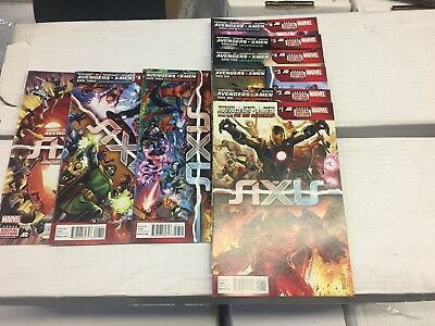 AVENGERS X-Men AXIS #1-10, Marvel Comics, FREE SHIPPING