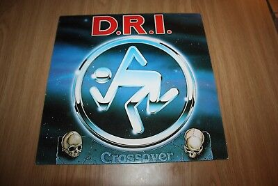 Dri - Crossover - Dutch Issue - Metal Blade - Very Good++