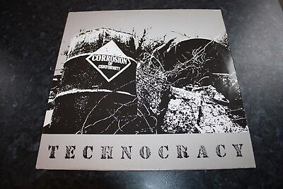 Corrosion Of Conformity - Technocracy - 1987 - Dutch Issue - Very Good++