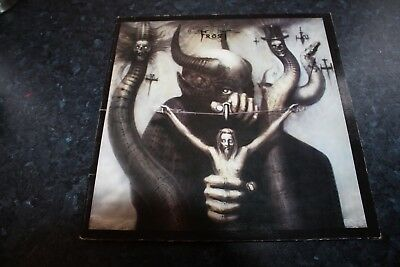 Celtic Frost - To Mega Therion - Uk Issue + Printed Inner - Very Good-