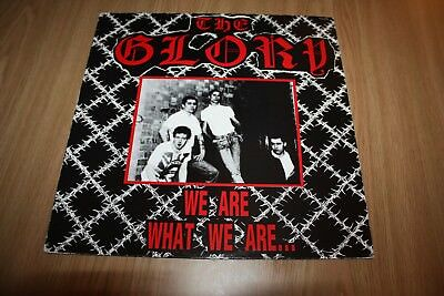 The Glory - We Are What We Are - Uk Issue - 1988 - Very Good++