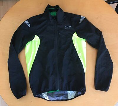 Gore Element Windstopper Active Shell, Gr. M, schwarz-neon