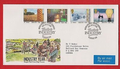 Uk   1986 Industry Year  Fdc