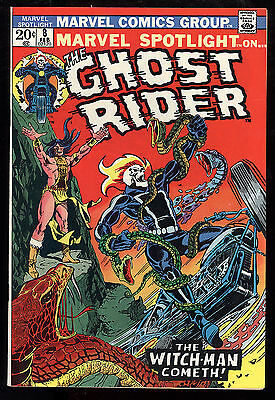 Marvel Spotlight (1971) #8 First Print 4th App of Ghost Rider Ploog Art VF