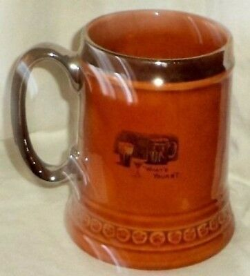 Lord Nelson Pottery Beer Stein Mug Silent Night Comic Scene Rolling Pin 1-74