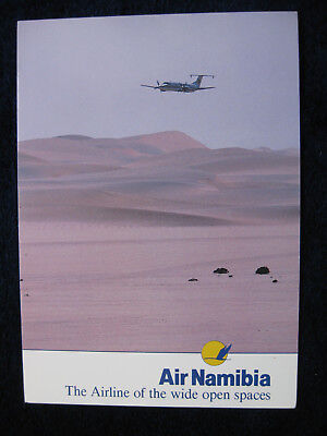 Air Namibia Beechcraft 1900, airlines issued card