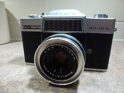 Vintage and Collectable  Rank Mamiya Camera AUTO-LUX 35  . Works well