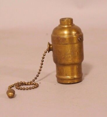 Hubbell Socket With Acorn Pull Chain Mica Inside