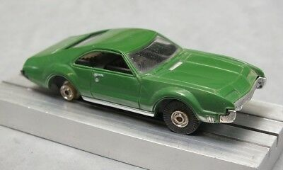 HO Slot Car Lot 3 - Aurora T-Jet w/ Oldsmobile Toronado Olive Body