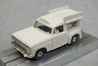 HO Slot Car Lot 6 - Aurora T-Jet w/ Good Humor Ice Cream Truck Body