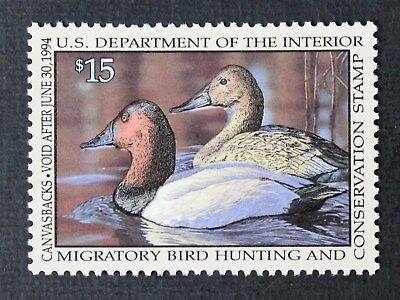 CKStamps: US Federal Duck Stamps Collection Scott#RW60 $15 Mint NH OG