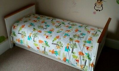 'Jolly Jungle' Gro To Bed Duvet Cover  Bedding Set by Grobag - to fit Cot Bed