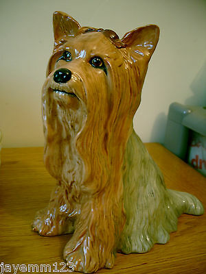 Yorkshire Terrier Royal Doulton Fireside Dog Da 87 Perfect Condition