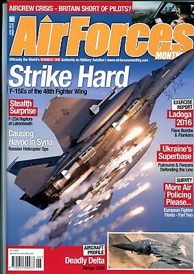 Air Forces Monthly 2016 June 48th FW Lakenheath F-15E,Mirage 2000