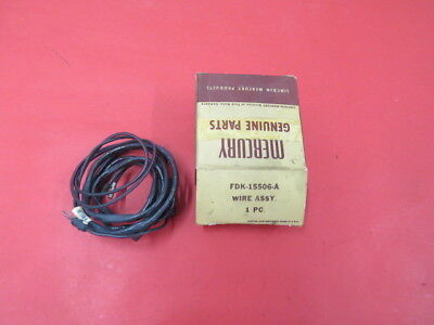 Nos 1955 1956 Mercury Back Up Lamp Switch Harness No Reserve 5 50