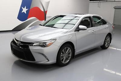 2015 Toyota Camry  2015 TOYOTA CAMRY SE BLUETOOTH SUNROOF REAR CAM 21K MI #891261 Texas Direct Auto