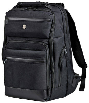 Victorinox Architecture Urban Rath Laptop Backpack with Tablet Pocket - Black