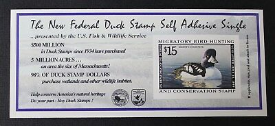 CKStamps: US Federal Duck Stamps Collection Scott#RW65A $15 Mint NH